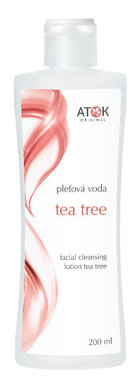 Atok Pleťová voda Tea tree 200 ml