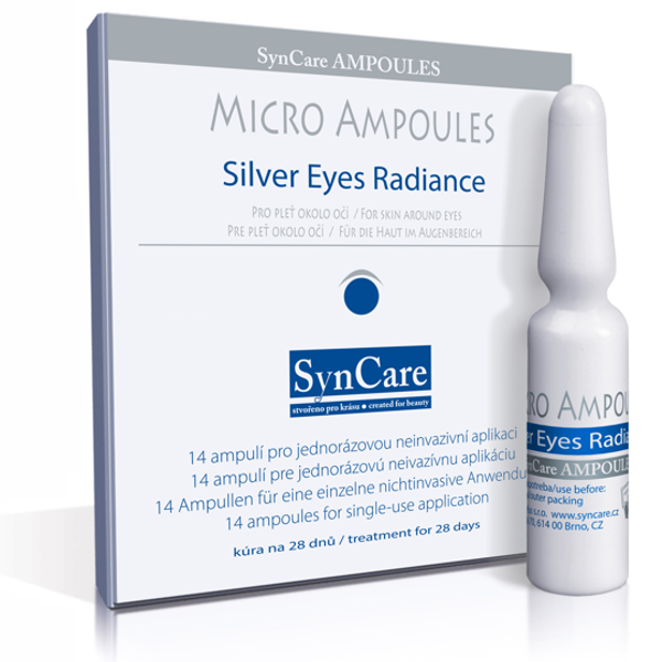 Syncare Micro Ampoules Silver Eyes Radiance 14 x 1,5 ml