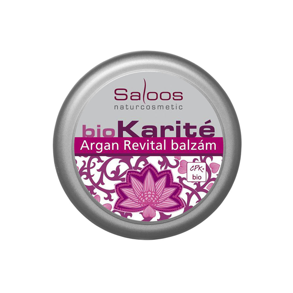 Saloos Bio balzám Argan revital 19 ml