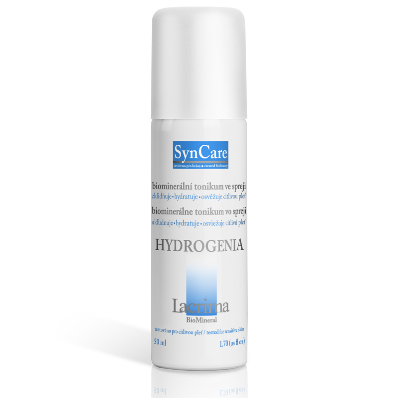 Syncare HYDROGENIA biominerální tonikum ve spreji 50 ml